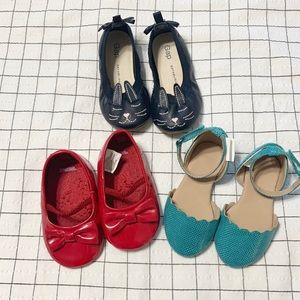 Adorable bundle of toddler shoes. Great condition!